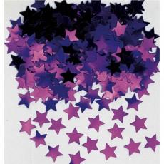 Purple Mini Stars Confetti