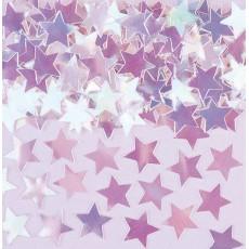 Iridescent Mini Stars Confetti 7g