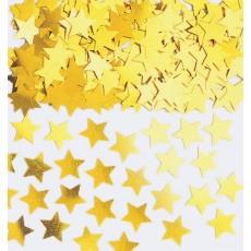 Gold Mini Stars Confetti 7g