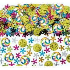 Feeling Groovy & 60's Flower Power Confetti 70g