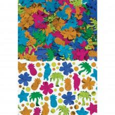 Hawaiian Party Decorations Tiki Foil Confetti