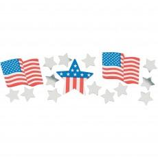 USA Patriotic Confetti