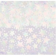 Iridescent Stars Confetti