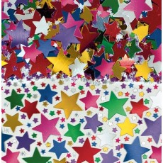 Star Multi Coloured Confetti 70g
