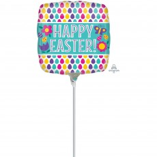 Easter Egg Pattern Shaped Balloon