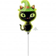 Halloween Mini Shape Black Kitty Shaped Balloon