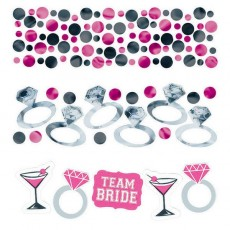 Hens Night Team Bride Confetti