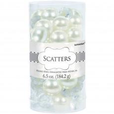 Wedding Pearl & Gem Scatters Confetti