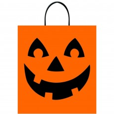 Halloween Deluxe Jack-O'-Lantern Treat Loot Favour Bag
