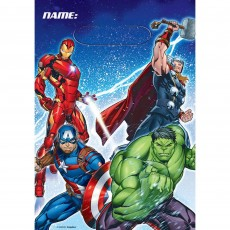 Avengers Epic Folded Loot Favour Bags