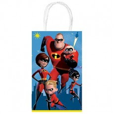 Incredibles 2 Printed Paper Kraft Favour Bags
