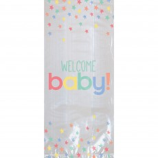 Baby Shower Party Supplies - Favour Bags Neutral Cello Welcome Baby!