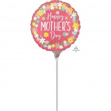 Mother's Day Floral Wreath Foil Balloon