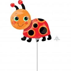 Ladybug Fancy Mini Miss Ladybug Shaped Balloon
