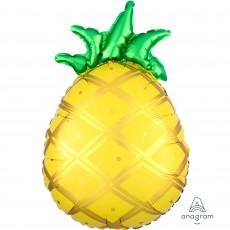 Hawaiian Luau Junior Shape XL Tropical Pineapple Shaped Balloon