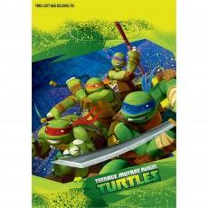 Teenage Mutant Ninja Turtles Folded Loot Favour Bags 23cm Pack of 8