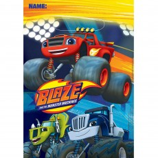 Blaze & The Monster Machines Folded Loot Favour Bags