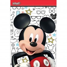 Mickey Mouse On The Go Folded Loot Favour Bags