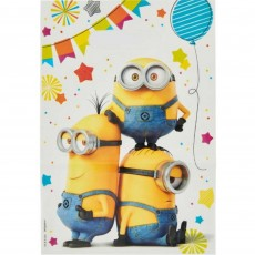 Minions Despicable Me Folded Loot Favour Bags Pack of 8