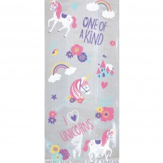Magical Unicorn Cello Treat Favour Bags