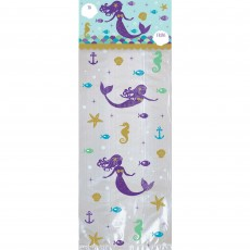 Mermaid Wishes Cello Treat Favour Bags Pack of 20