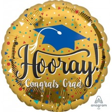 Graduation Gold Standard HX Foil Balloon