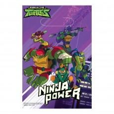 Rise of the Teenage Mutant Ninja Turtles Folded Loot Favour Bags 23cm Pack of 8