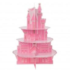Disney Princess Once Upon A Time Castle 3 Tier Cupcake Stand 32cm x 44cm