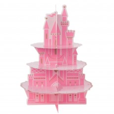 Disney Princess Once Upon A Time Castle 3 Tier Cupcake Stand