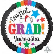 Graduation Standard Foil Balloon