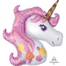 Magical Unicorn SuperShape Shaped Balloon