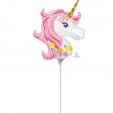 Magical Unicorn Mini Shaped Balloon
