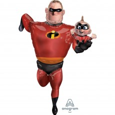 Incredibles Mr Incredible Airwalker Foil Balloon