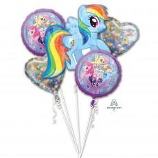 My Little Pony Party Decorations - Foil Balloons Friendship Adventures Bouquet