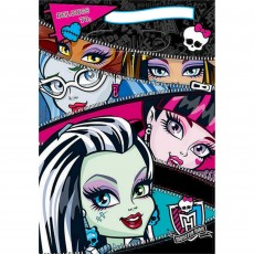 Monster High Folded Loot Favour Bags