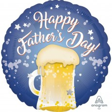 Father's Day Standard HX Beer Mug Foil Balloon