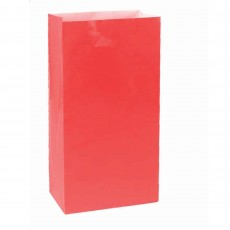 Red Apple Large Paper Favour Bags