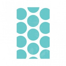 Dots Robin's Egg Blue Polka  Paper Favour Bags