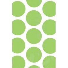 Dots Kiwi Green Polka  Paper Favour Bags