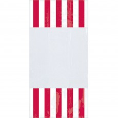 Dots & Stripes Red & White Cello Favour Bags