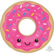 Pink SuperShape Donut Shaped Balloon