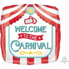 Disney Mickey Carnival Standard HX Welcome To The Carnival Foil Balloon 45cm