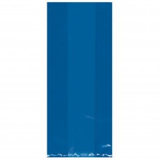 Bright Royal Blue Small Cello Favour Bags 24cm x 10cm Pack of 25