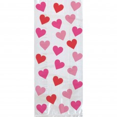 Love Key To Your Heart Small Cello Favour Bags