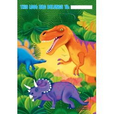 Prehistoric Dinosaurs Loot Favour Bags 23cm Pack of 8