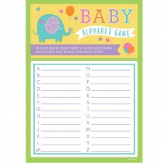 Baby Shower - General A to Z Playing Cards Party Games Pack of 24