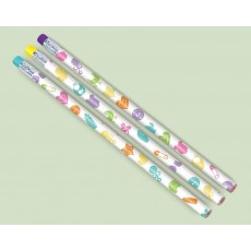 Baby Shower - General Pencils with Eraser End Favours Pack of 12