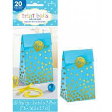 Blue Baby Shower - General Paper Treat It's a Boy! Favour Bags Pack of 20