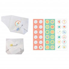 Baby Shower Party Supplies - Party Games Diaper Games