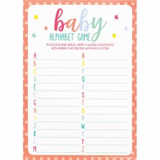 Baby Shower - General A to Z Alphabet Baby Games Party Games
